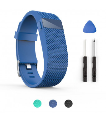 ToPoPo For Fitbit Charge Hr Bands, Replacement Bands Strap with Tools for Fitbit Charge HR