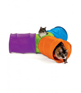 Carol Wright Gifts 3 Way Pop Up Cat Tunnel