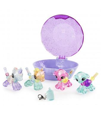 Twisty Petz Babies Collectible Bracelet Set, Unicorns and Puppies 4-Pack
