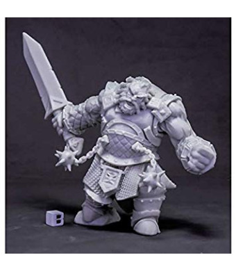 Reaper Miniatures Fire Giant Warrior (Huge) #77616 Bones Unpainted Plastic Mini
