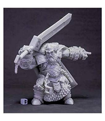 Reaper Skorg Ironskull, Fire Giant King (Huge) #77614 Bones Unpainted Plastic