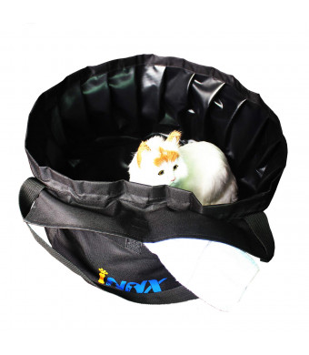 INNX Swimming Pool for Puppy Portable Pet Bath Tub-2019 for Camping, Travel, Outdoor