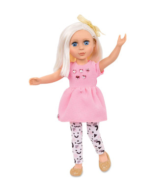 Glitter Girls Dolls by Battat - Elula 14-inch Poseable Fashion Doll - Dolls for Girls Age 3 and Up