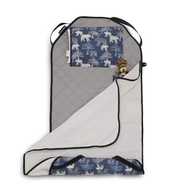 Urban Infant TOT Cot All-in-One Preschool/Daycare Toddler Nap Mat - Bears