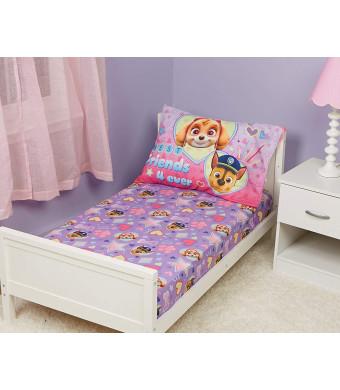 Paw Patrol Skye Toddler Bed Sheet and Pillowcase Set