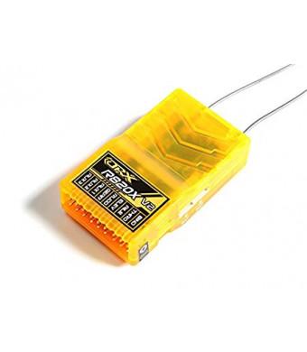 HobbyKing OrangeRx R820X V2 8Ch 2.4GHz DSM2/DSMX Comp Full Range Rx w/Sat, Div Ant, F/Safe and SB