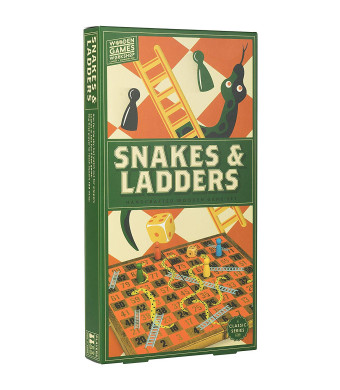 Professor Puzzle Wooden Games Workshop Snakes and Ladders