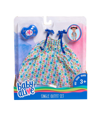Baby Alive Single Outfit Set - Floral Dress