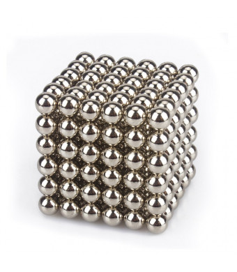Creative Sculpture Magnets Office Fidget and Stress Relief for Adults 216 Pieces 5mm Magnetic Balls
