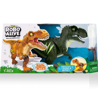 Robo Alive Zuru Robo Dino Robotic Pet (Green)