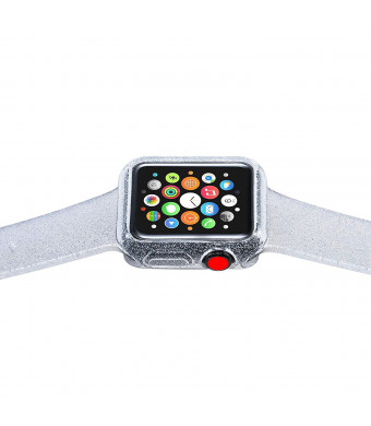 Libra Gemini Replacement Apple Watch Case and Apple Watch Band for Apple Watch 38mm Series 3/2/1