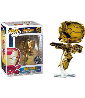 Funko Pop! Avengers Infinity War - Iron Man [Chrome Gold] #285 - [EXCLUSIVE - SUPER RARE!!!]