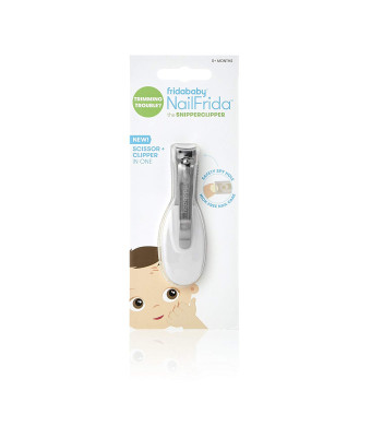 NailFrida The SnipperClipper by Fridababy The Baby Nail Clipper with Safety spyhole for Newborns and up