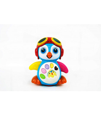 NBD Corp Musical Dancing Penguin Toy for Boys and Girls Kids or Toddlers Features Different Modes, Lights, Sounds  Fun Storytelling Toy.