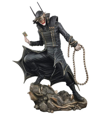 DIAMOND SELECT TOYS DC Gallery: The Batman Who Laughs PVC Diorama Figure