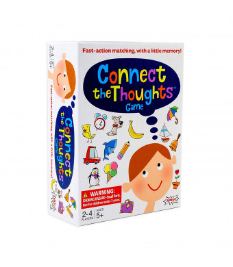 AMIGO Connect The Thoughts Kids Memory and Match Card Game