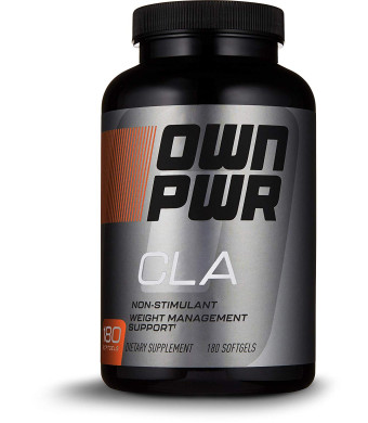 OWN PWR CLA Supplement, 180 Softgels, Conjugated Linoleic Acid 800mg