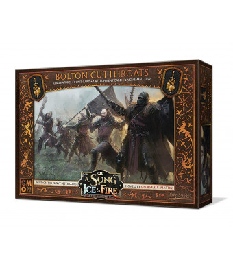 CMON A Song of Ice and Fire: Tabletop Miniatures Game - Bolton Cutthroats