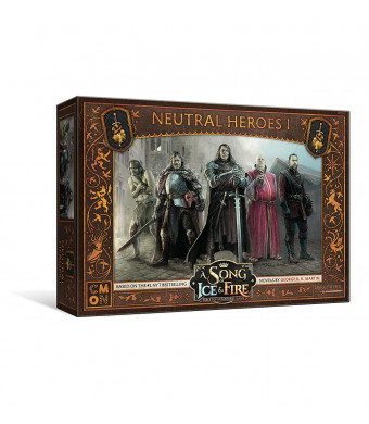 CMON A Song of Ice and Fire: Tabletop Miniatures Game Neutral Heroes #1