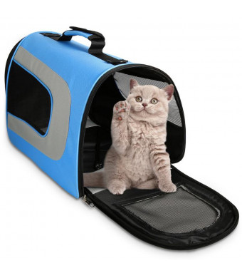 Cat Carrier Dog Carrier Soft Sided Pet Carrier Large Size Suitable for Small and Medium Dogs and Cats, Puppy, Kittens, Pet Travel Carrier