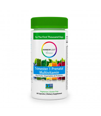 RAINBOW LIGHT Trimester 1 Prenatal Multivitamin, 60 CT