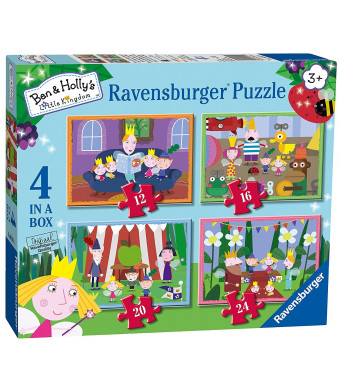 Genuine Ben and Hollys Ben and Hollys Little Kingdom 4 in a Box Puzzles for Little Hands Ages 3+