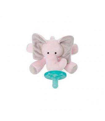 WubbaNub Infant Pacifier - Pink Elephant