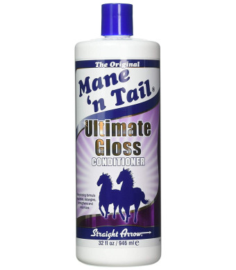 Mane 'n Tail New Ultimate Gloss Conditioner Rehydrating Formula Nourishes, Detangles, Strengthens and Volumizes