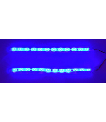 Apex RC Products Blue LED RC Drift Car Truck Underbody Light Kit Set #9019B