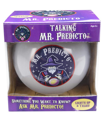 Mr. Predicto Fortune Telling Ball - The Fun Way to Discover Your Future - Ask a YES or NO Question and He'll Magically Speak the Answer - Like a Next Generation Magic 8 Ball - Fortune Teller Toy