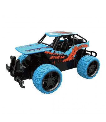 ESGOT Y183 Remote Control Jeep 1: 18 4CH Off-Road Racing Car with Gift Box Packaging Toy, Blue