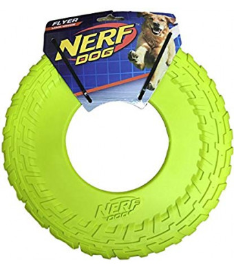 Nerf Dog TPR Flyer, 10-Inch (Great Toy for Your Favorite Pooch)