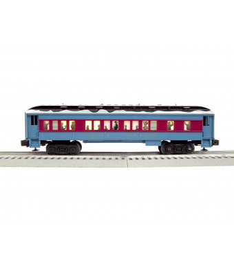 Lionel 684603 The Polar Express Hot Chocolate Car, O Gauge, Blue, Red, Black, White, Gold