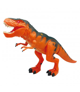 Mighty Megasaur Walking and Interactive Dinosaur Toy  Motion and Touch Activated - Features Realistic Walking and Life Like T-Rex Sound Effects by Dragon-I  Official Manufacturer