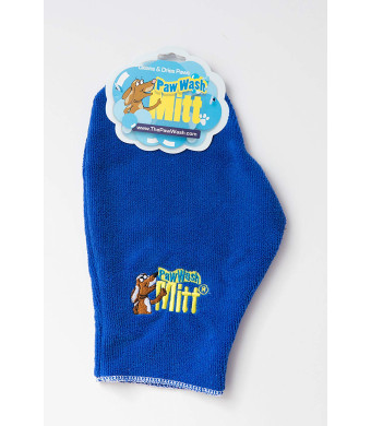 Wild Heart 3002-PWMT Dog wash and Dries Mitt