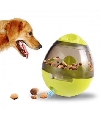 LYZ Interactive Pet Dog Treat Dispensing Food Feeder Cat Puppy Tumbler Leakage Ball Funny Toys
