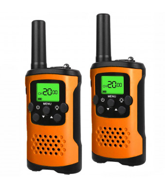My-My Walkie Talkies for Kids, 2 Mile Range, Built in Flash Light 48A- Best Gifts for Kids