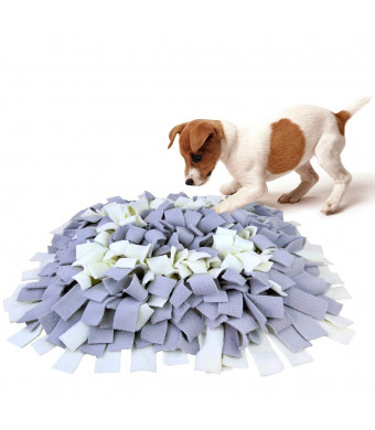 AK KYC Snuffle Mat Dogs Nosework Slow Feeding Training Encourages Natural Foraging Skills Pet Play Puppy Interactive Puzzle Funny Toys Perfect Any Breed
