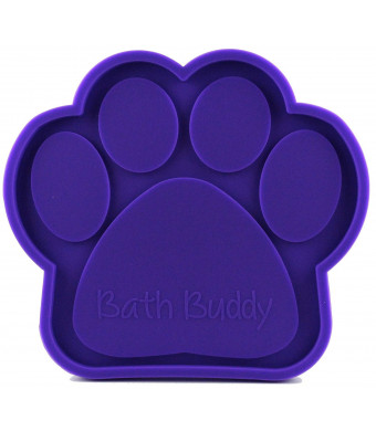 K9 Bath Buddy for Dogs - The Ultimate Dog Bath Toy - Makes Bath Time Easy, Just Spread Peanut Butter and Stick - Featured on USA Today
