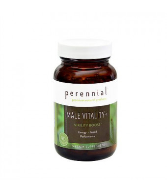 Male Vitality Natural Testosterone Booster Supplement - Mens Energy Supplements Made of Herbs