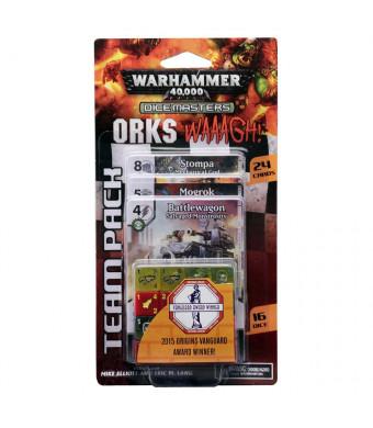 WizKids Warhammer 40, 000 Dice Masters: Orks - Waaagh! Team Pack Toy