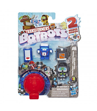 Transformers E4138 Botbots Toys Series 1 Techie Team 5 Pack -- Mystery 2-in-1 Collectible Figures!