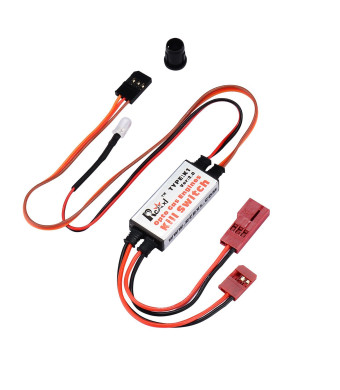 ZYHOBBY DLE Engine Kill Switch, RC Opto Kill Switch with Futaba Plug DLA DLE DA Ignition Cut Off- Safety 100% Surface Mount Technology