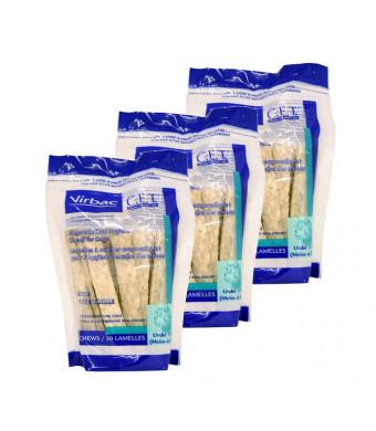 Virbac Dental Chews CET601-3 30 Petite Oral Chews (3 Pack)