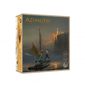 Tyto Games Azimuth: Ride The Winds, 2-4 Player Strategy Boardgame with Co-op Game Play