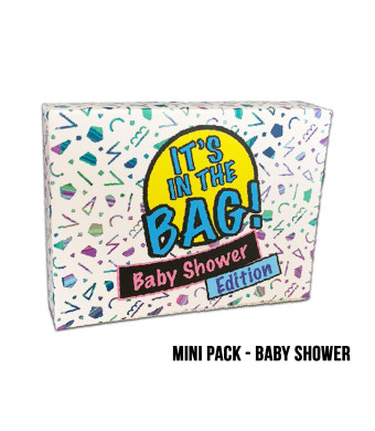 It's in The Bag! - Baby Shower - Newest Game for Parties! Laugh Out Loud in This Game of Teamwork. Describe, Guess and Charades! Act Fast in This Popular Quick-witted Card Game! 4-20 Players!