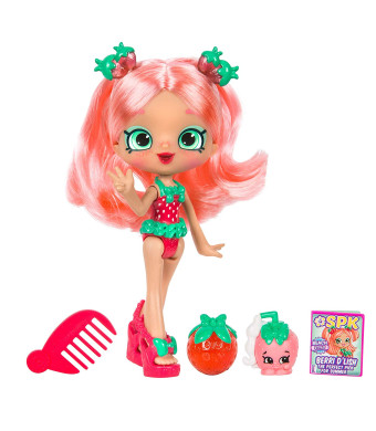 """5"""" Shoppie Doll with Matching Shopkin and Accessories, Berri D'lish"""