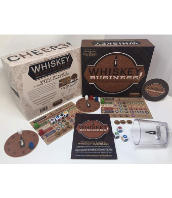 UNCORKED! Games Whiskey Business! The Party Game of Risk Taking and Whiskey Making
