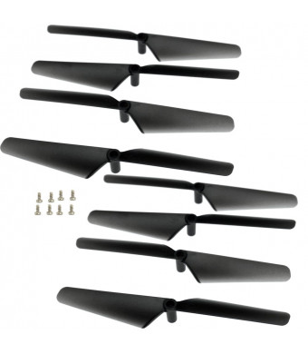 Xiaopyo RC Quadcopter Drone Spare Parts Propellers Blades for X708 X708W Drone