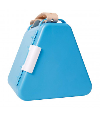 Fat Brain Toys Teebee - Play and Store Toy Box - Light Blue